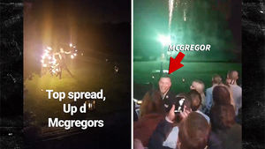 Conor McGregor Baptises Conor Jr., Wild Party Ensues