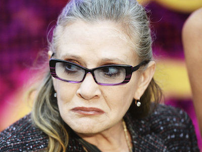 The BADASS Way Carrie Fisher Confronted Oscar-Winning Sexual Predator