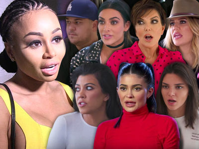 Blac Chyna Sues the Whole Kardashian Family for Torpedoing Reality Show
