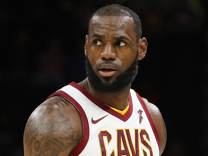 LeBron James Discussed N-Word Graffiti at L.A. Home with His Children