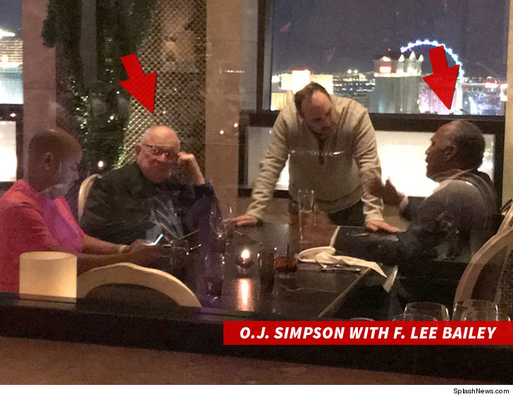 O.J. Simpson Parties Like It's 1995 with F. Lee Bailey ...