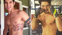 Shirtless Shots of Tyler Posey to Get You Jacked for His B-Day!