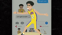 'Big Baller Brand' Emojis Crack App Store Top 3