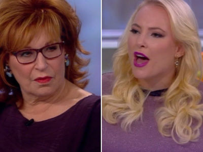 Meghan McCain Snaps at Joy on 'The View' -- Tense Debate Over Politicizing Soldiers' Deaths