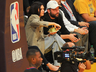 Kendall Jenner: Courtside for Blake Griffin!? Hell Yeah.