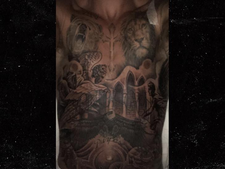 Tmz for Justin bieber torso tattoos
