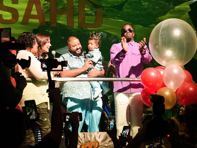 DJ Khaled Throws Awesome First Birthday for Son Asahd at LIV in Miami