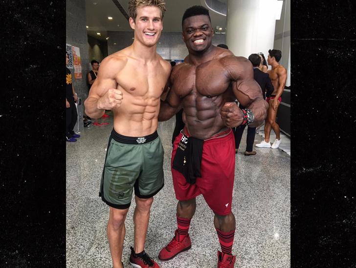 UFC's Sage Northcutt Wrestles HUGE Bodybuilder in China