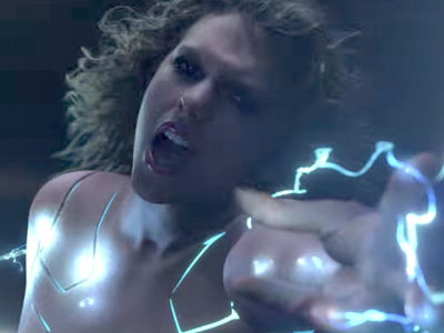 Taylor Swift Is Basically Naked In New, Futuristic Music Video for 'Ready For It?'