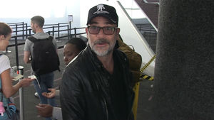 'Walking Dead' Star Jeffrey Dean Morgan: L.A. Dodgers Can Use 'Lucille'
