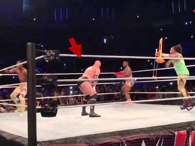 Triple H Twerks in WWE Ring, Gets Love from The Rock & Steph McMahon