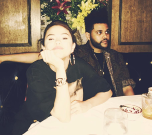 The Weeknd and Selena Gomez Together