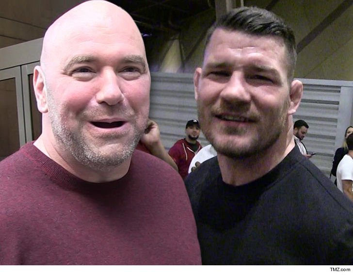 Dana White Says Gym Guy Suing Michael Bisping Is a 'F**king P***y'