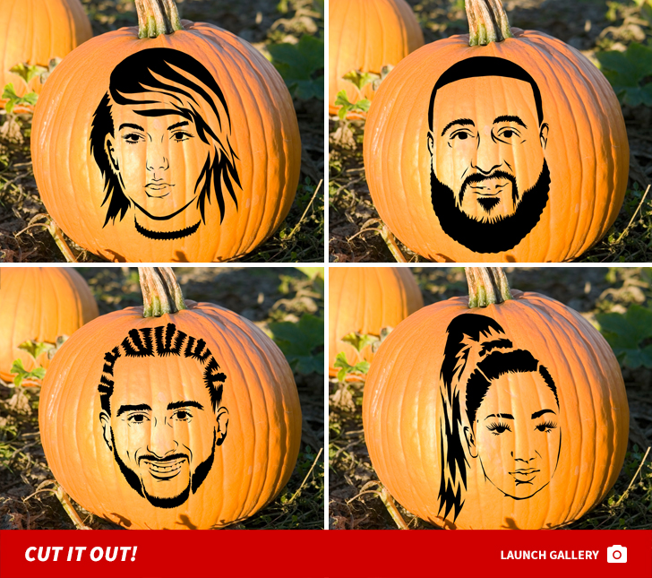 Celebrity Pumpkin Stencils | Better Homes & Gardens