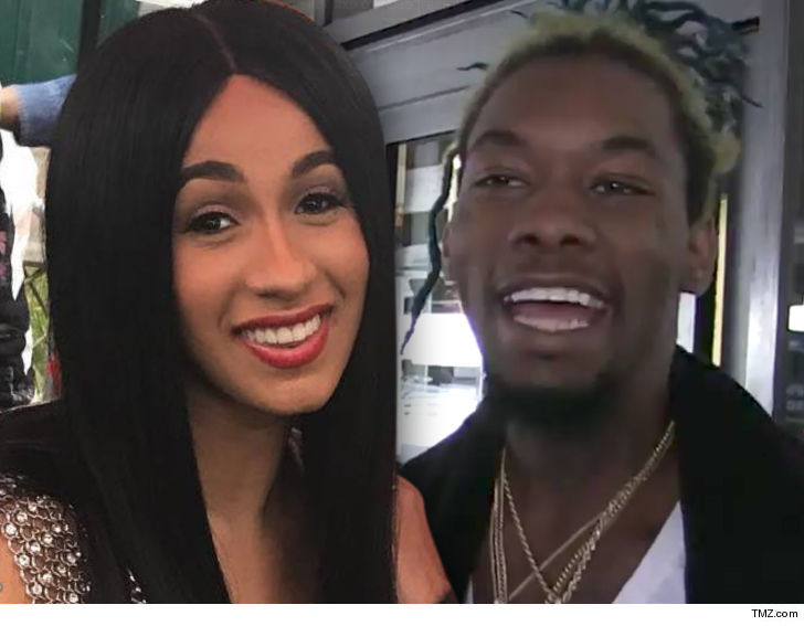 Migos Offset Husband Of Cardi B Arrested On Felony Gun: Migos' Offset Proposes To Cardi B And Are Engaged Now