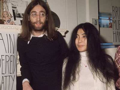 John Lennon's Christmas Card to Yoko Ono's Ex for Sale