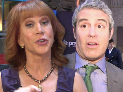 Kathy Griffin Calls Andy Cohen 'Deeply Misogynistic' After He Disses Her