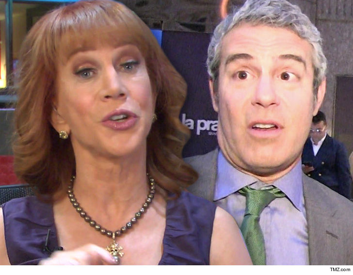 Kathy Griffin Slams Former BFF Andy Cohen and TMZ's Harvey Levin