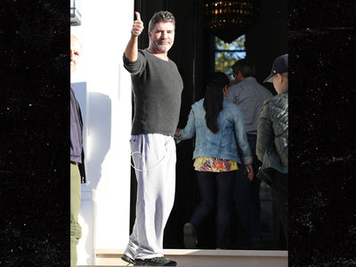Simon Cowell Gets Out of the Hospital After Nasty Fall