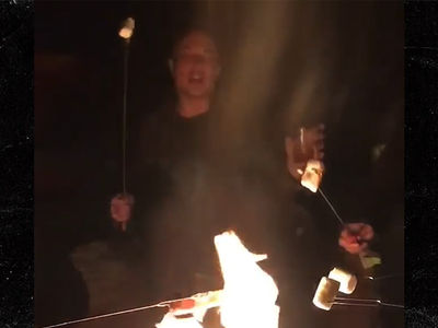 Elon Musk Sings Johnny Cash Around a Campfire