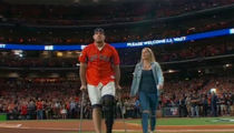 J.J. Watt Throws Out First Pitch at World Series Game 3 in Houston
