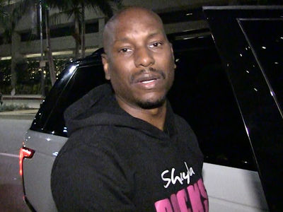 Tyrese Gibson, Exhausted, Depressed Leaving Hospital