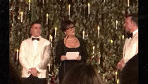 Kris Jenner Officiates Colton Haynes' Star-Studded Wedding