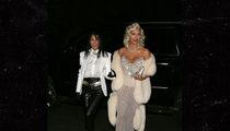 Kim and Kourtney Kardashian Nail Madonna, Michael Jackson Halloween Costumes