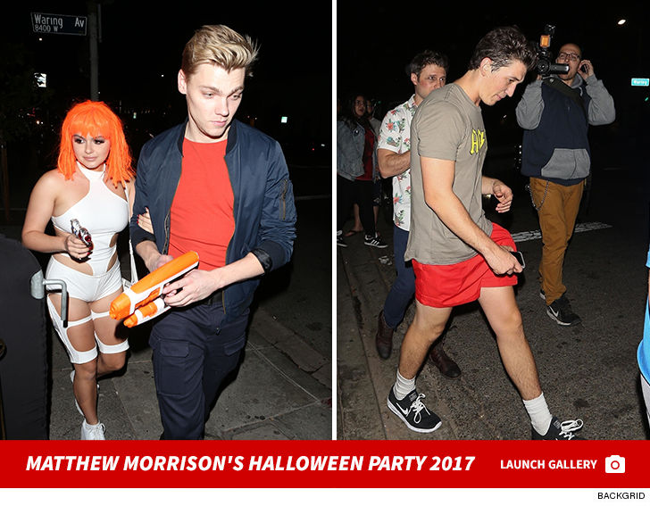 Matthew Morrison's Halloween Party Draws Tons of Celebrities | TMZ.com