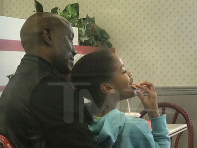 Tyrese Takes Daughter to In-N-Out During Monitored Visit