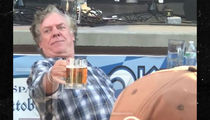 Christopher McDonald Seen With Beer at Oktoberfest Before DUI Arrest