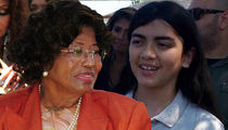 Katherine Jackson Resigns as Blanket's Guardian