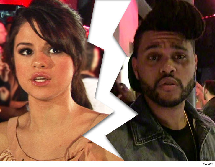 Selena Gomez and The Weeknd Have Split - Celebrity Sector