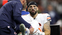 NFL's Zach Miller In Danger of Losing Leg After Gruesome Injury