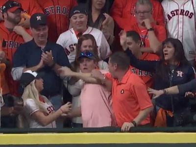 Astros Fan Who Threw Back Puig Ball Took Private Jet To Attend Game 6