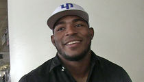 Yasiel Puig Signs Baseball for Vegas Shooting Victim's Son