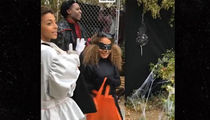 The Kardashians Neighborhood Is Hottest Trick-or-Treating Ticket