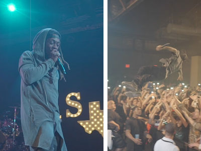 Lil Wayne and Travis Scott Rock the Mic for Jas Prince's Birthday