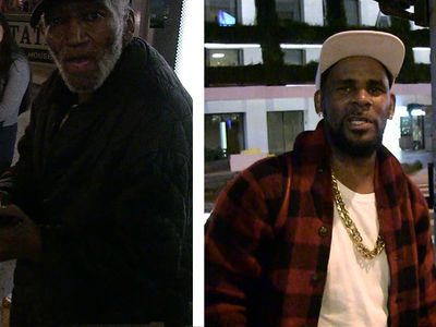 R. Kelly Gets Shade from Homeless Man After $100 Handout