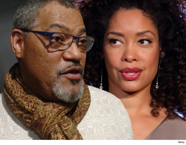 Laurence Fishburne sues for divorce 6 weeks after wife's kissing photo