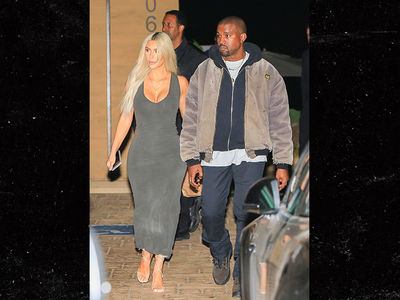 Kim and Kanye Hit Up Sushi Restaurant But He Brings His Own Food
