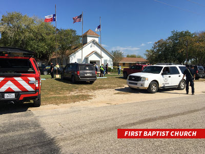 Texas Church Mass Shooting Leaves 26 Dead, Several Injured (UPDATE)