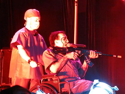 Marilyn Manson Calls Gun Stunt an 'Act of Theater'