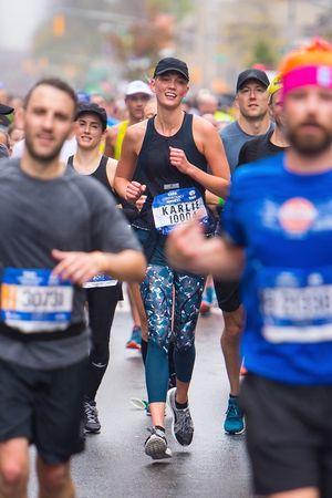 Celebs Running The NYC Marathon