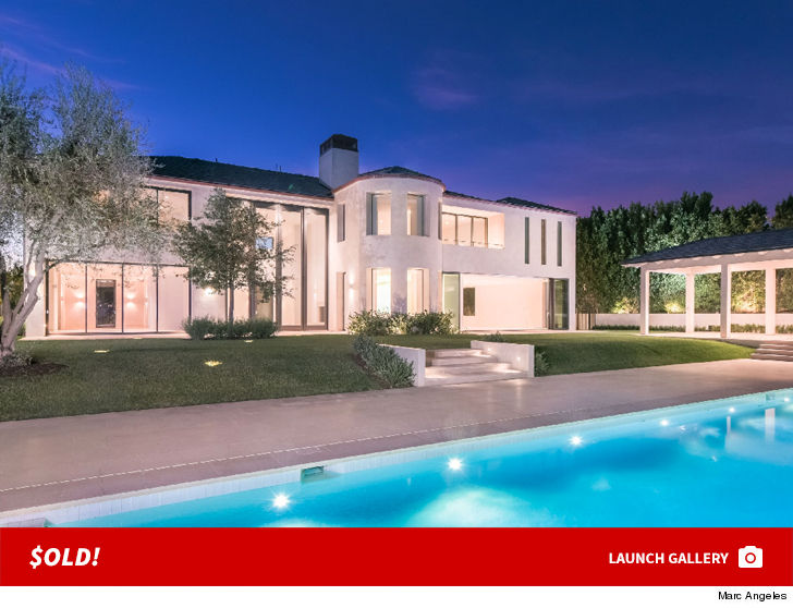 kim kardashian and kanye west turned their former belair home into a pristine palace before they sold it featuring just the bare necessities for