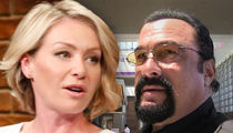 Portia de Rossi Claims Steven Seagal 'Unzipped' During Her Audition
