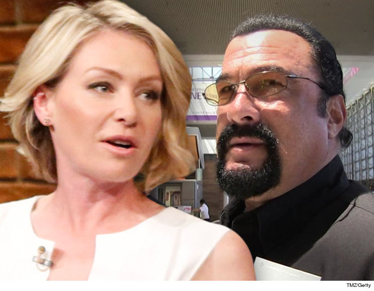 Portia de Rossi claims Steven Seagal 'unzipped' his trousers  during audition