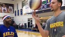 Klay Thompson Schooled in Art of 4-Point Shot by Harlem Globetrotters