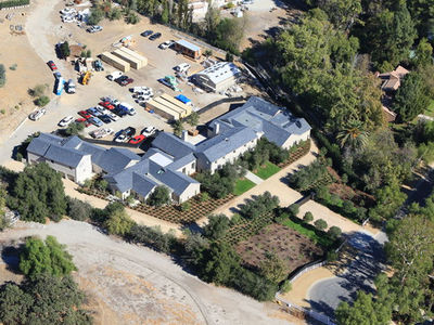 Kim Kardashian and Kanye West Kick Landscaping Into High Gear at Hidden Hills Home