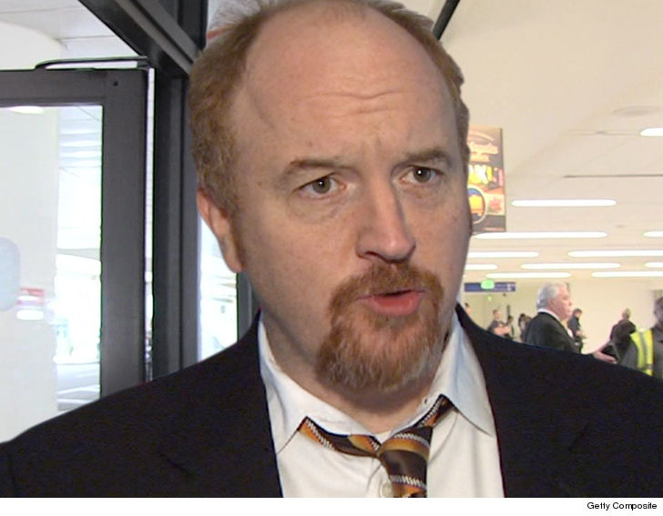 Louis CK Joins Depressingly Expanding Group of Men Accused of Sexual Harassment